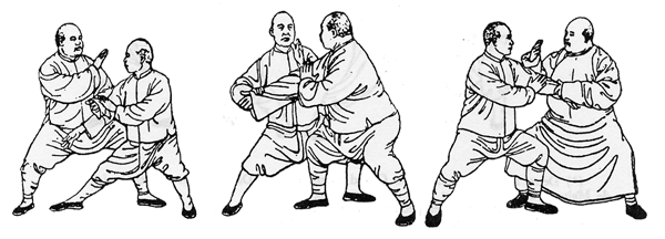 About Tai Chi push hands